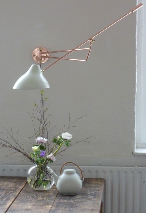wandlampe kupfer lappalainen. Black Bedroom Furniture Sets. Home Design Ideas